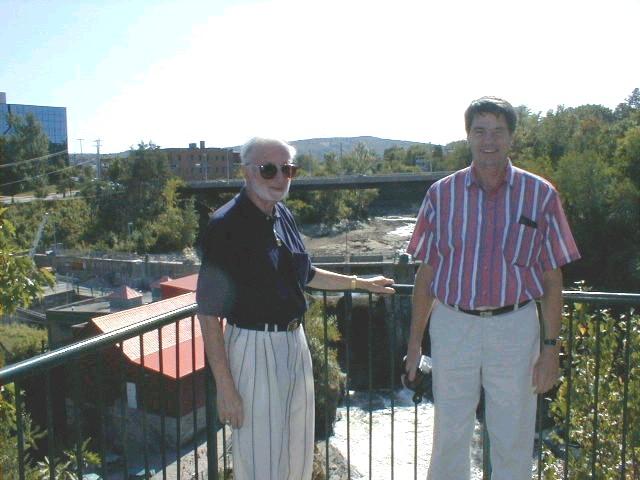 Baxter Laporte & Roch St-Georges, a regular attendee