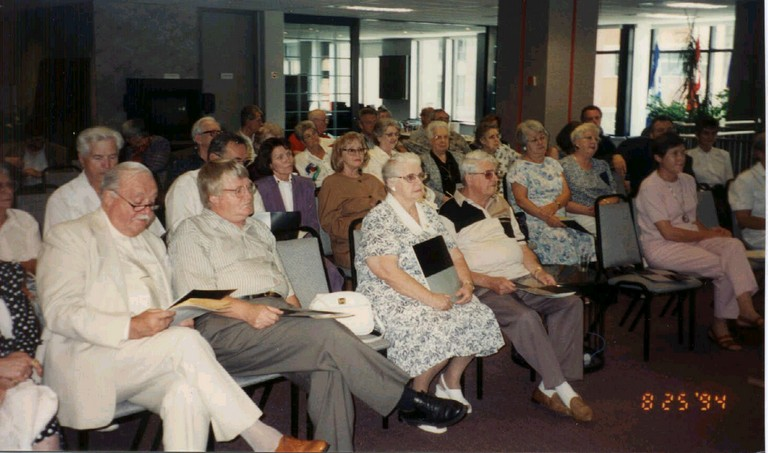 "First ""founding"" general assembly in August 1994"