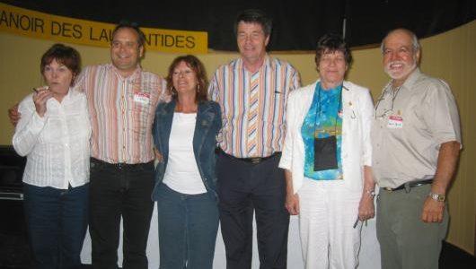 2006-2007 Board MembersLeft to right : Ghislaine l'Abbé, Sylvain Laporte, Diane St-Georges, Baxter Laporte, Madeleine Laporte et Marcel Laporte